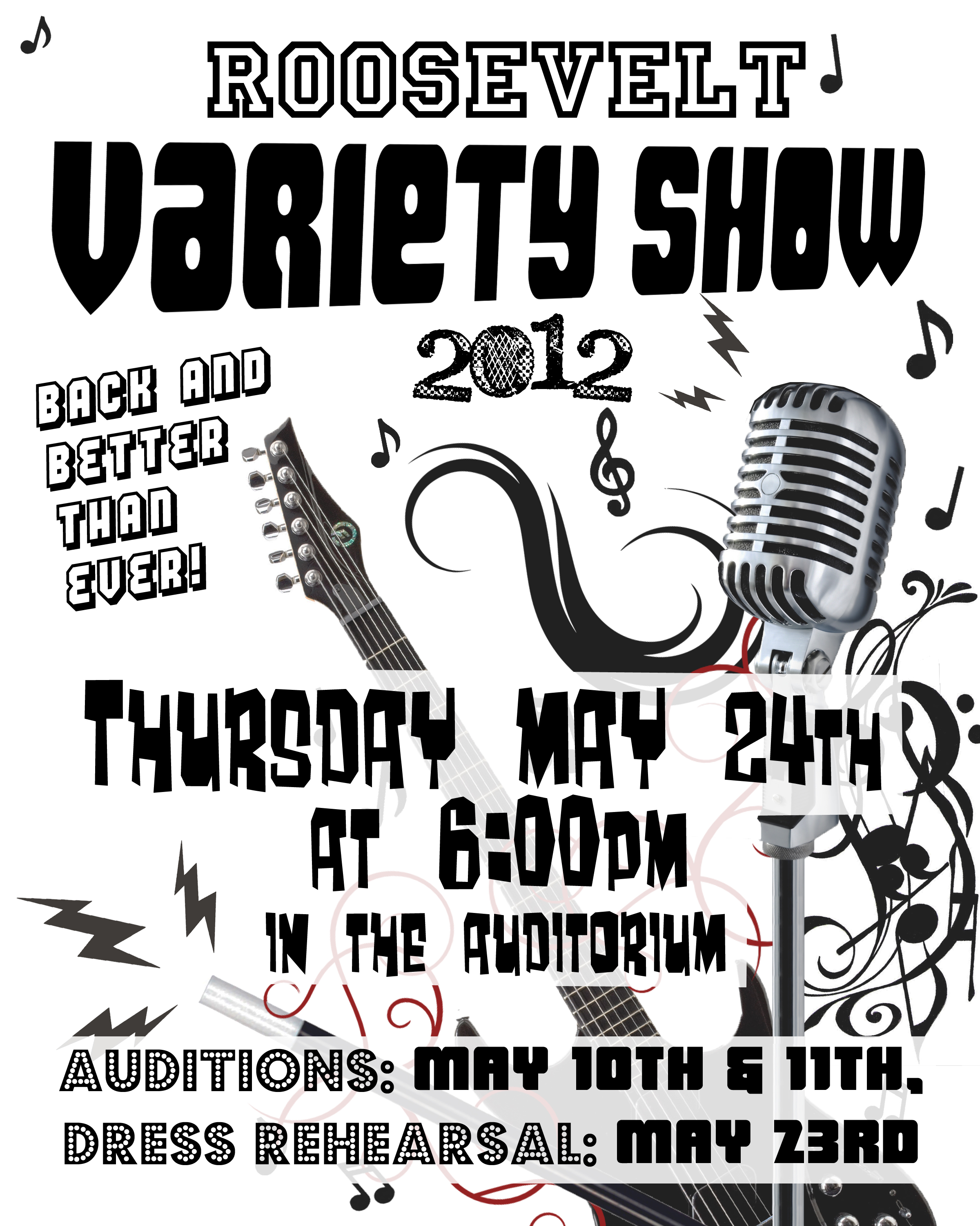 Talent show poster project oriented image alramifo Choice Image